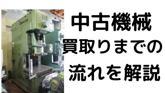 中古機械 価格